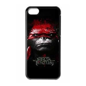 Game Boy Tmnt Teenage Mutant Ninja Turtles Funda iPhone 5C Funda caja del teléfono celular Negro G2I1ODIR teléfono celular Caso Deportes Único