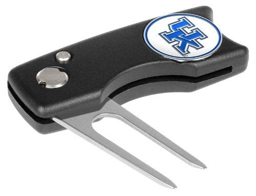 Kentucky Wildcats Spring Action Divot Tool (Kentucky Wildcats Hat Clip)