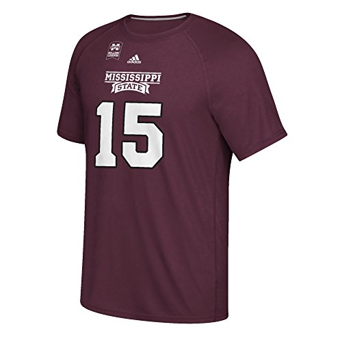 NCAA Mississippi State Bulldogs Adult men Prescott Legend Ultimate S/Tee,X-Large,Maroon Legend S/s Tee