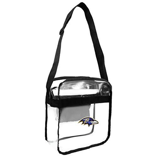 (NFL Baltimore Ravens Clear Carryall Crossbody Purse)
