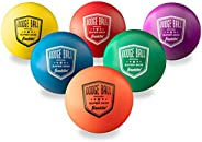 Franklin Sports Dodgeball Ball Set, Assorted Colors, 6 Count (pack of 1)