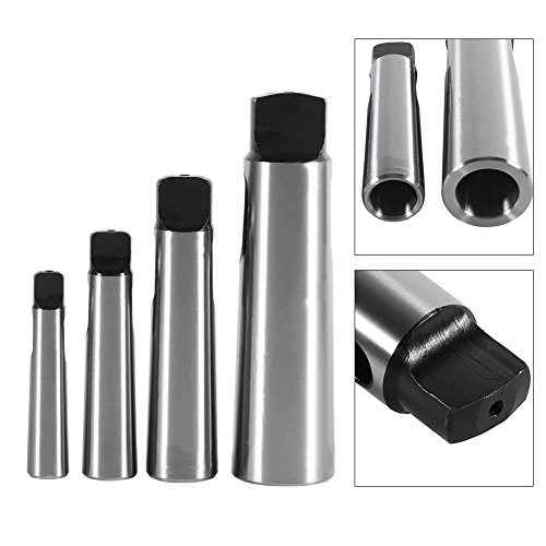 MT1-4 to MT2-5 Morse Taper Adapter Reducing Drill Sleeve for Lathe Milling(3-4)