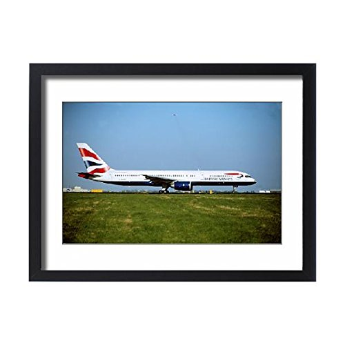 Framed 24x18 Print of Boeing 757-200 (1566667) (B757 Plane)