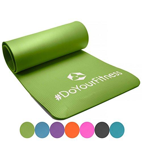 Portable Fitnessmatte »Sharma« / dick und weich, ideal für Pilates, Gymnastik und Yoga, Maße: 183 x 61 x 0,8cm, hellgrün
