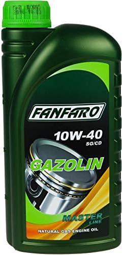 6 Litre Original Fanfaro Engine Oil Gazolin 10w 40 Api Sg Cd Engine Oil Auto
