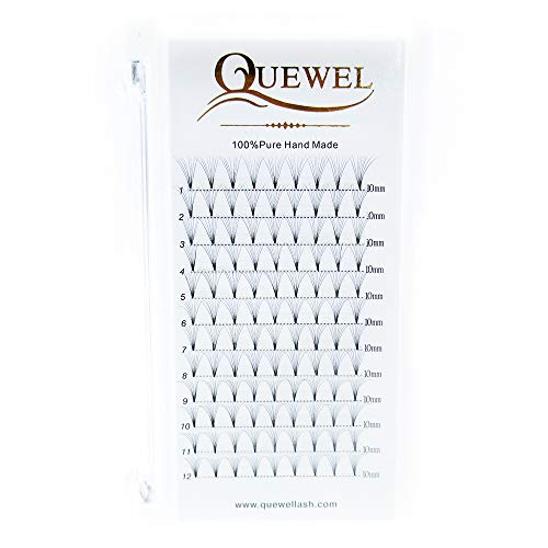 8b8014c2673 Russian Volume Premad Fans Eyelashes Extension 7D 8D Thickness 0.07mm Curl  C/D Length 8-15mm by Quewel(8D-0.07-C-10mm) - KAUF.COM is exciting!