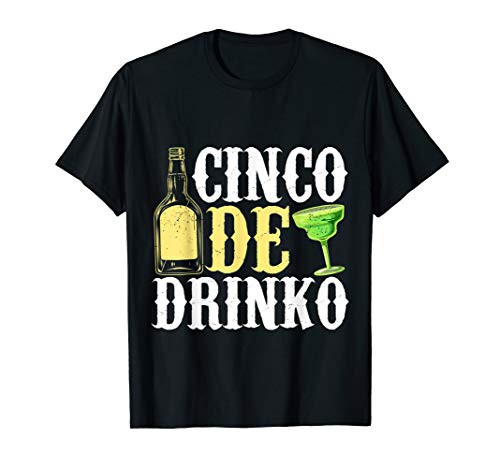 Funny Cinco De Mayo Drinko Celebration T-Shirt Men Women ()