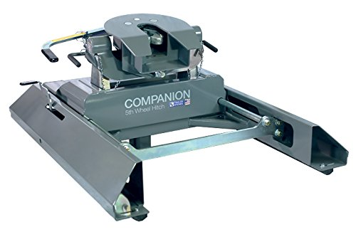 B&W Companion Slider 5th Wheel Trailer RV Gooseneck Hitch Adapter RVK3405 ()
