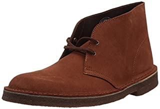 Clarks Men's Desert Chukka Boot, Mahogany Suede, 8.5 Medium US (B073P5JYBC) | Amazon price tracker / tracking, Amazon price history charts, Amazon price watches, Amazon price drop alerts