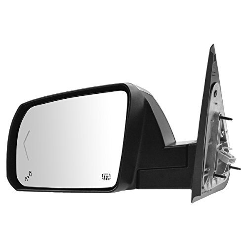 Power Fold Heat Signal Memory Chrome Mirror LH Driver Side for Toyota - Chrome Mirror Outside