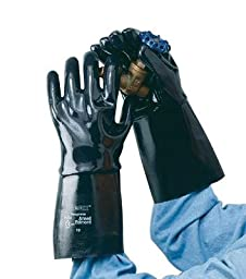 Ansell Edmont 9-928-10 Neox Fully Coated Neoprene Glove with 18\