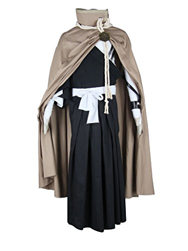 Mtxc Men's Bleach Cosplay Costume Kurosaki Ichigo Shihakusho 3rd Size X-Large Black
