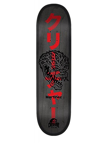 Creature Grey-Red Sketchy Demons Martinez - 8.6 Inch Skateboard Deck (Default, Grey)