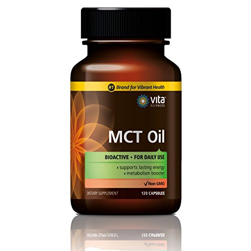 MCT Oil Non-GMO Paleo Friendly Convenient & Bioavailable 3,000 mg Liquid Capsules Ketogenic Metabolism Booster with Medium-Chain triglycerides