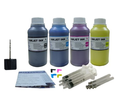 (ND ™ Brand Dinsink: 4X10OZ Pigment Refill ink kit for HP 940 940XL: Pro 8000, Pro 8500, Pro 8500A...The item with ND Logo!)