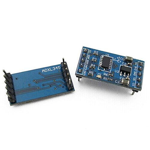 SODIAL(R) ADXL345 Digital 3-Axis Accelerometer Module Blue