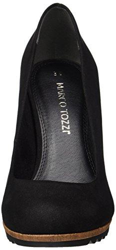 Marco Tozzi Damen 22412 Pumps Schwarz (Black Comb)