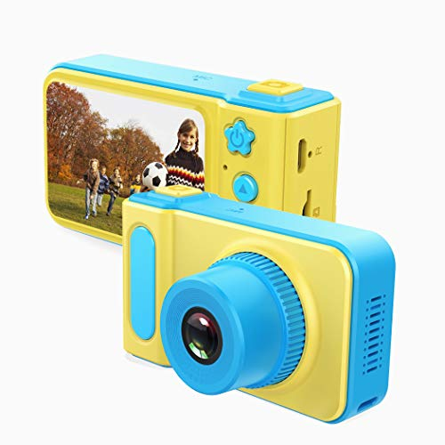 Kids Camera Gifts for 3-8 Year Old Girls, Shockproof Cameras Great Gift Mini Child Camcorder for Little Girl with Soft Silicone Shell for Outdoor Play