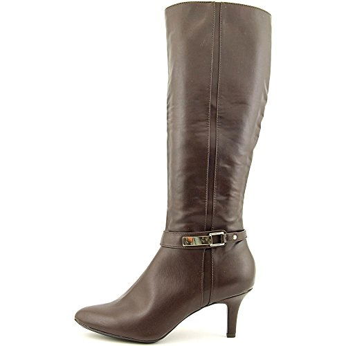 High Alfani Knee Boot Synthetic Jemsey Brown wTq1xS78w