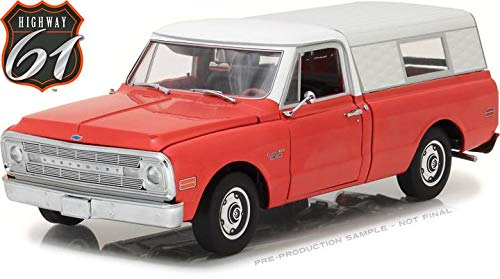 Greenlight Hwy-18004 Highway 61 1970 Chevrolet C-10 Pickup 1:18 Scale Diecast Model