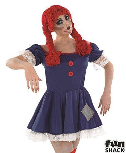 Ladie (Rag Doll Halloween Costume Uk)
