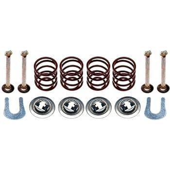 Front Pair Unity Automotive 2-211900-001 Quick Complete Strut Assembly Kit