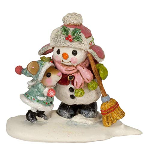 Wee Forest Folk TM-9 Frosty Friends (New 2018) made in Massachusetts