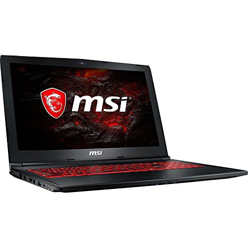 "MSI GL62MVR 7RFX-1048 94% NTSC Performance Gaming Laptop Intel Core i7-7700HQ GTX1060 16GB DDR4 128GB NVMeSSD +1TB, 15.6"", Aluminum Black"