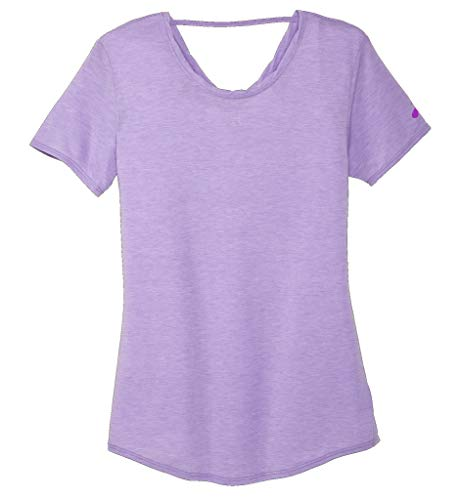 Brooks Women's Distance Short Sleeve Heather Lilac