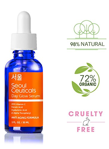 Seoul-Ceuticals-Korean-Skin-Care-20-Vitamin-C-E-Ferulic-Serum-With-Hyaluronic-Acid-Provides-Potent-Anti-Aging-Anti-Wrinkle-Results-1-OZ