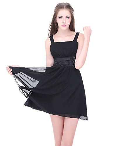 Buy black sheer bridesmaid dresses - 2