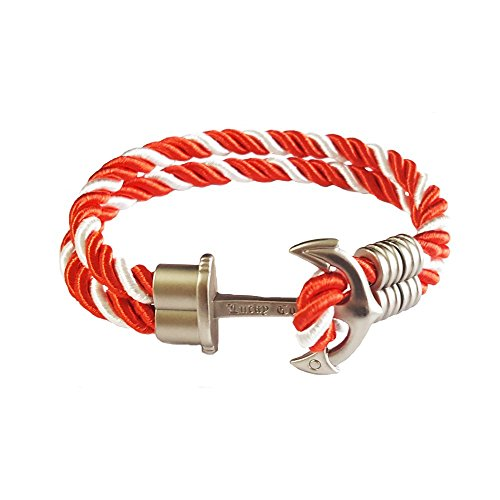 Young & Forever Women's Valentine Diwali Nautical Anchor Inspirational Bracelet by Young & Forever