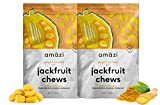 Amazi Jackfruit Chews – Ginger Turmeric Dried Fruit Chews – Healthy Snacks Rich in Vitamins, Antioxidants & Anti-Inflammatory Benefits – Organically Grown, Vegan, Paleo-Friendly Fruit Snacks – 2 Pack For Sale