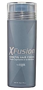 XFusion Economy Keratin Hair Fibers, Medium Brown 28g