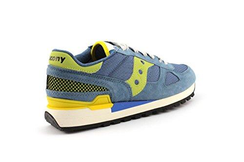 Saucony - Zapatillas de Lona para hombre multicolor azul claro 42,5