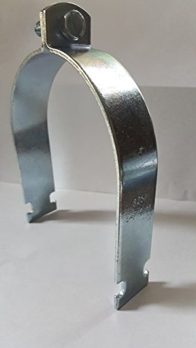 "4-7/8"" Pipe Strut Clamp For Use w/Conduit and Pipe (pack of 20) USA by Montgomery (Image #3)"