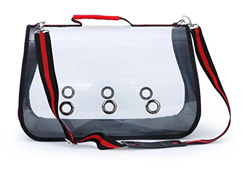 Transparent Cat carriers, travel underseat bag for cats and dogs, underseat bag for cats Clear-view shoulder Carry Bag for cats and puppies