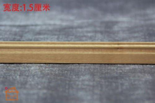 1//12 Scale DIY Dollhouse Miniature Wood Finishing Trim L11.8; W0.6 //Lot 10 Pieces