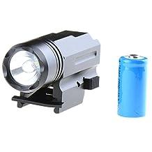 Asdomo 1000LM LED Rifle Mount Hog Hunting Tactical Light Torch Shotgun Flashlight Camping Lantern HAIST