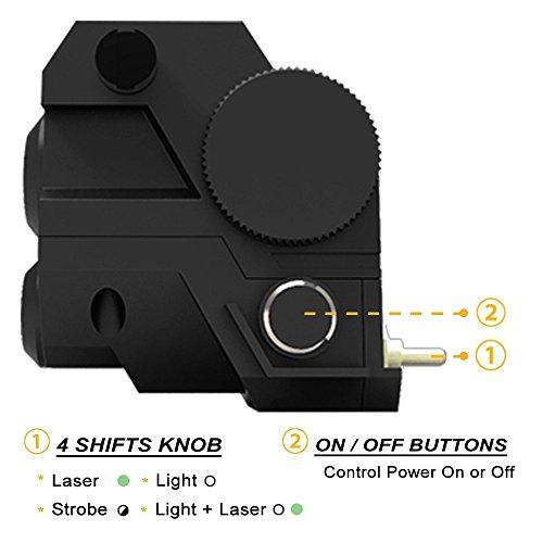 Ade-Advanced-Optics-ALCB-2-Mini-Tactical-Sub-Compact-Rail-Mount-Green-Laser-Sight-with-LED-Flashlight-Black