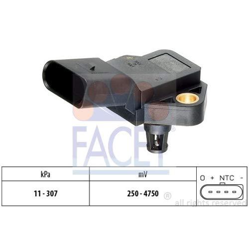 FACET 10.3075 Sensore pressione aria, Aggiustaggio altimetrico AUTOSTARTER
