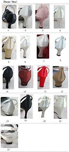 mujer de zapatos Para a Blanco Fashion moda Kevin la boda q18ppB