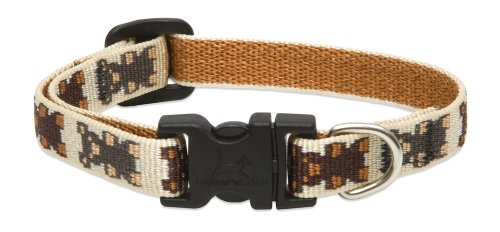 Teddy Adjustable Collar - LupinePet 1/2-Inch Teddy Bears Adjustable Dog Collar for Small Dogs, 6 to 9-Inch