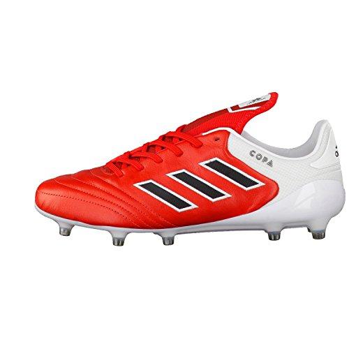 adidas Copa 17.1 Fg, pour les Chaussures de Formation de Football Homme, Rouge (Rosso Rojo/Negbas/Ftwbla), 40 EU