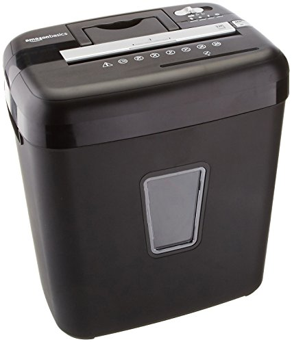 AmazonBasics 12-Sheet Cross-Cut Paper, CD and Credit Card Shredder