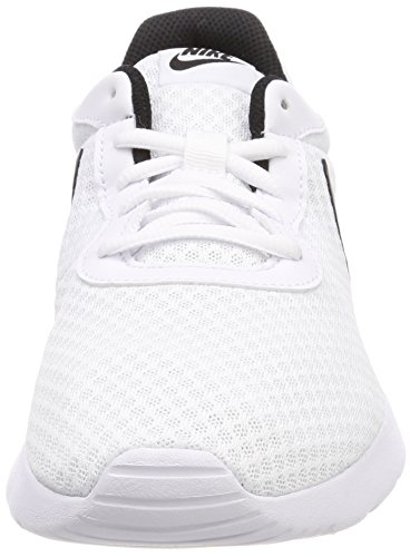 Nike Tanjun, Chaussures de Gymnastique Homme Blanc Cassé (White/black 101)