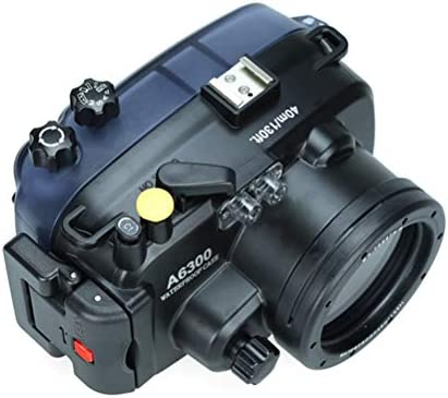 WMWX Sony A6300 (16-50MM) Estuche para cámara de Buceo, Estuche para cámara submarina, Estuche para cámara de Buceo Profesional Resistente al Agua: Amazon.es: Hogar