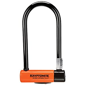 Kryptonite Evolution Series 4 Standard Heavy Duty Bicycle U Lock Bike Lock (4-Inch x 9-Inch)