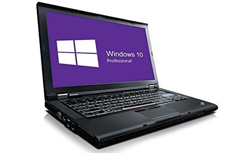 Lenovo ThinkPad T410 portátil (14,1 Pulgadas, Intel Core i5 - 520 M @ 2,4 GHz, 4 GB DDR3 RAM, 160 GB HDD, Grabadora de DVD, Windows 10 Pro preinstalado ...