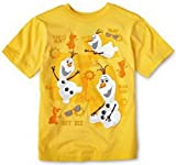 Disney Frozen Olaf Graphic Tee T - shirt (4, I Love Heat)